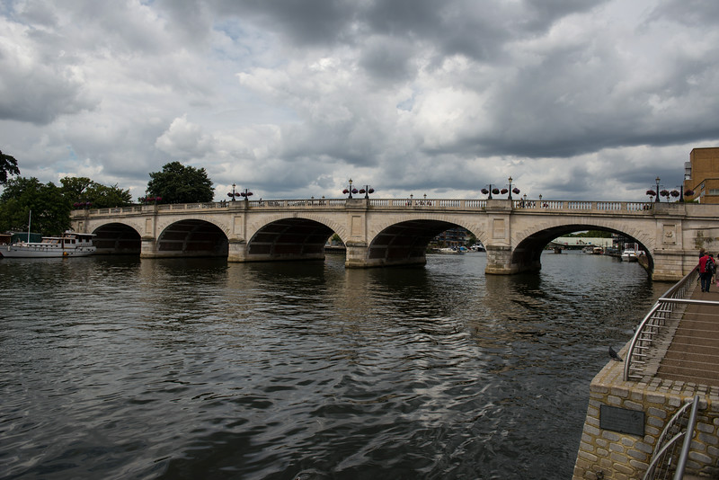 Kingston Bridge over Thames.