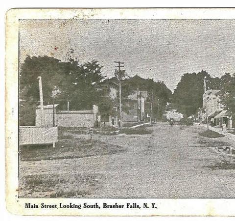 South Main Street, Brasher Falls, N.Y.
