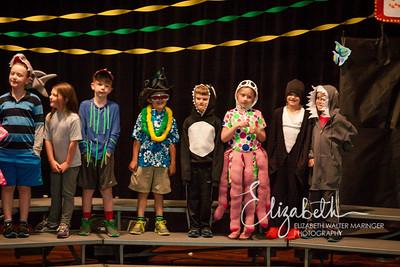 Mercer First Grade Musical & Walk