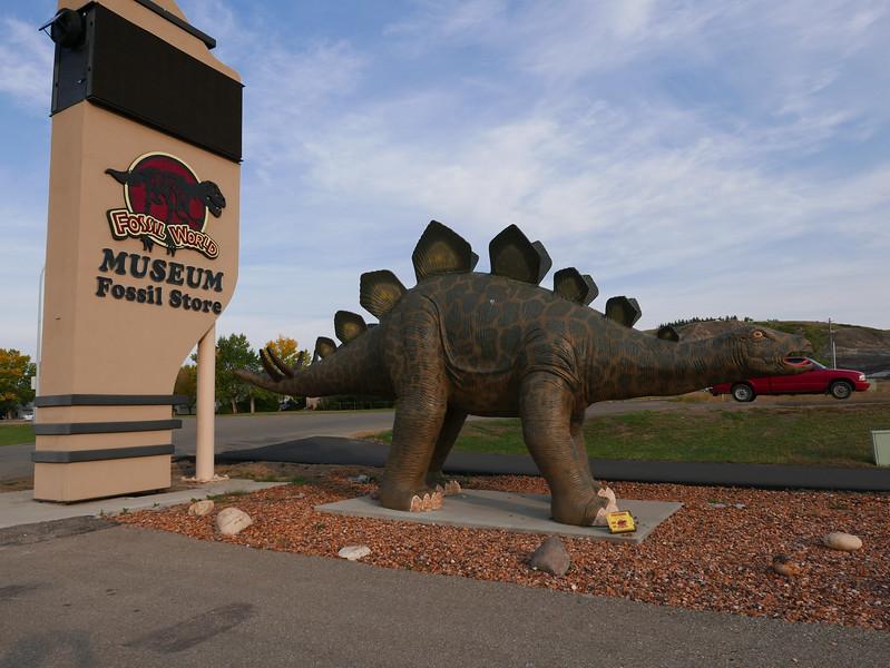Dinos at Fossil World