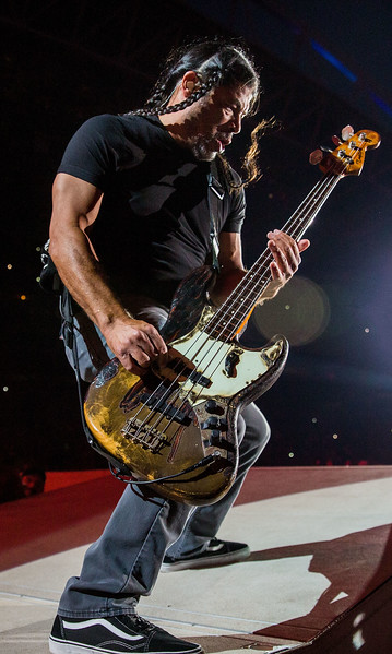 Metallica performs in Seattle