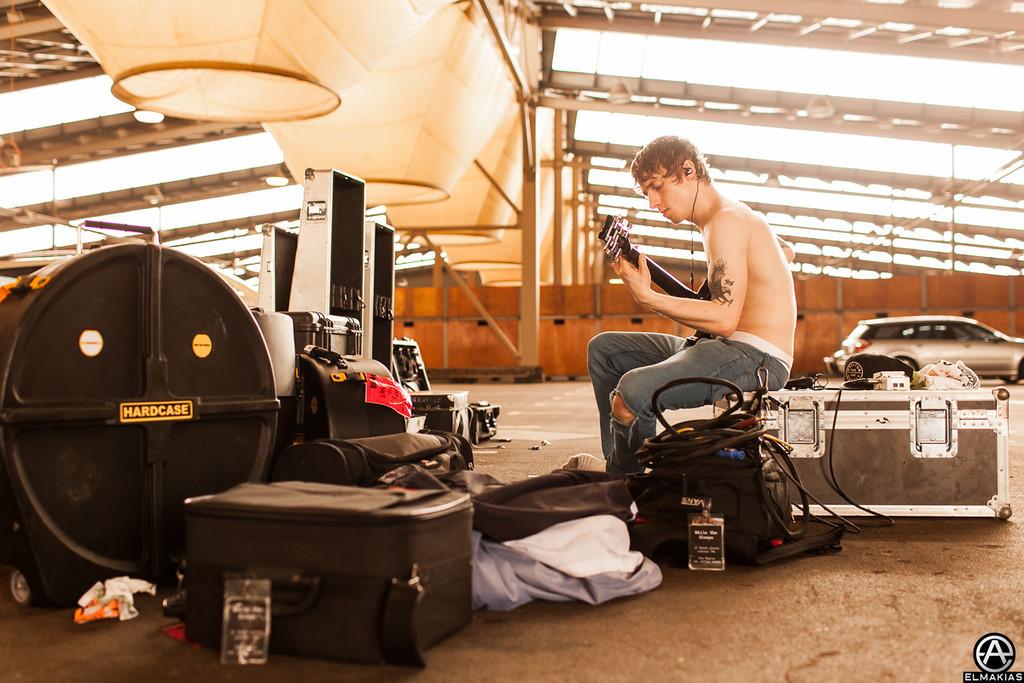 Sean of While She Sleeps - Soundwave Festival 2013