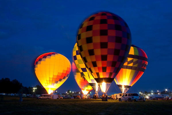Allen County Fair Hot Air Balloons