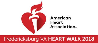 AHA Fredericksburg VA Heart Walk 2018