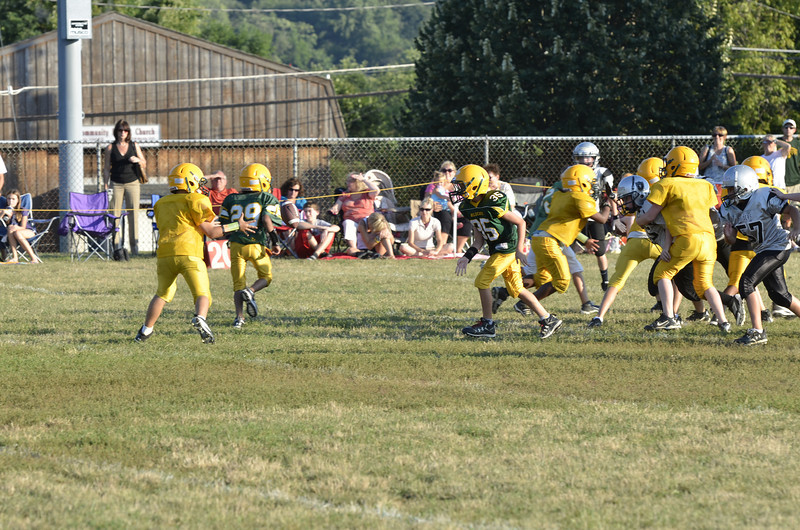 Wildcats vs Raiders Scrimmage 075.JPG