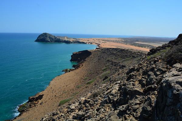 Coastal Ridge at Cabo de la Vela, La Guijira region, Colombia - March 2015