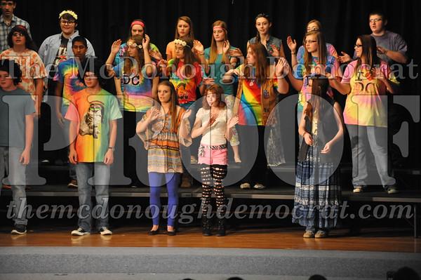 HS Chorus 2014 Variety Show 10-22-14