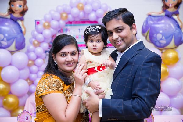 Dhrithii Dheva 1st Birthday