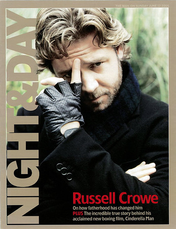 Russell Crowe Night & Day June 12, 2005