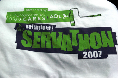 Greater DC Cares' Servathon 2007_DLA Piper