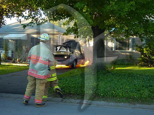 Car Fire - Greece, NY 10/7/03