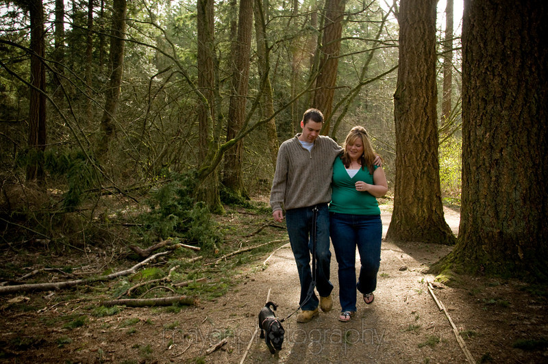 Engagement Photos - Apr 5 09 (Campbell Valley)