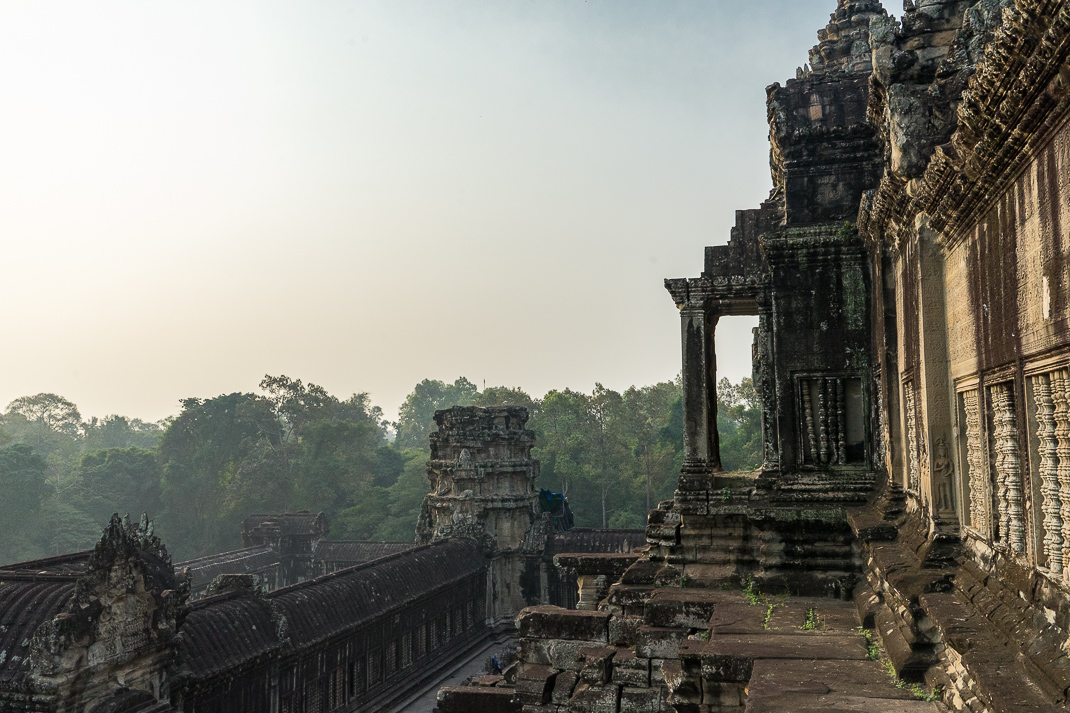 Angkor Wat Rear Sunrise