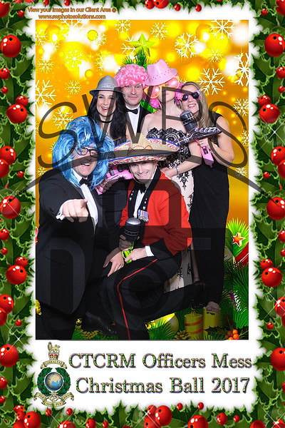 CTCRM Officers Mess Christmas Ball 2017