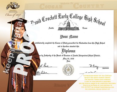 2018 Crockett Keedjit Diploma Proofs