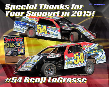 2015 LaCrosse Sponsor Thanks