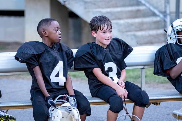 Pee Wee Bamberg Youth Football 10-16-18