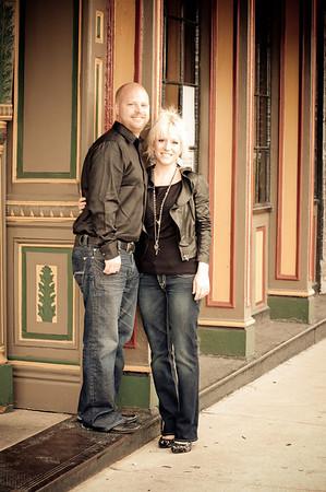 Kateri and Jordan Engagement