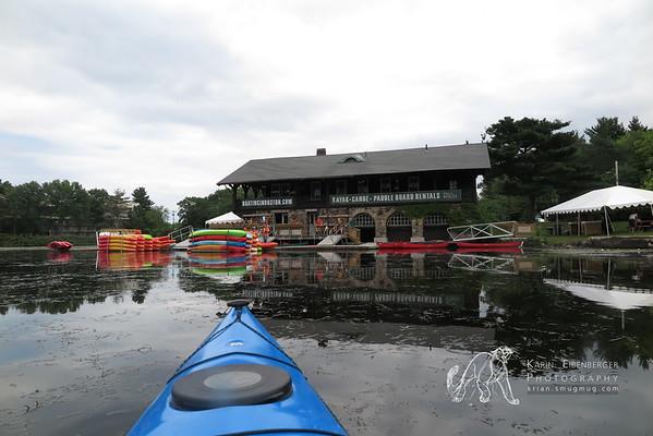Sea Kayaking in Newton
