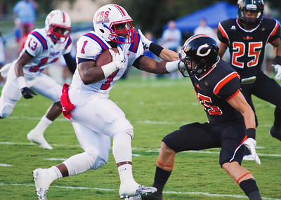 V  Parkview Baptist Vs Catholic High - 9/4/2015