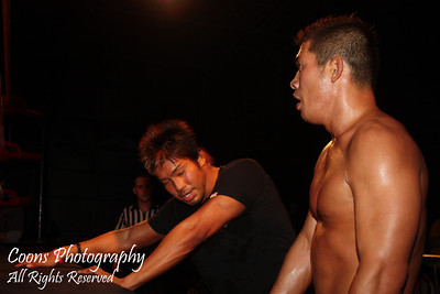DGUSA 6/4/11 - Arik Cannon vs Masaaki Mochizuki