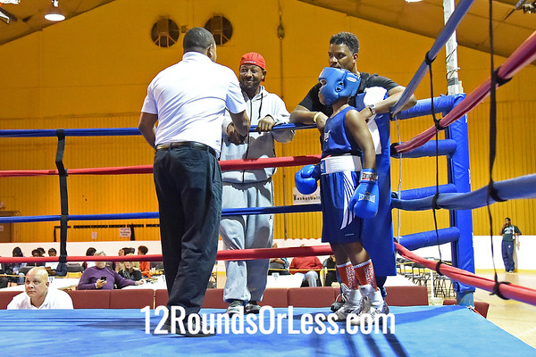 10=Bout #10:   Quincey Harris, 65th St. Gym   vs.   Darius Sitgraves, Bar None Boxing,   101 Lbs.