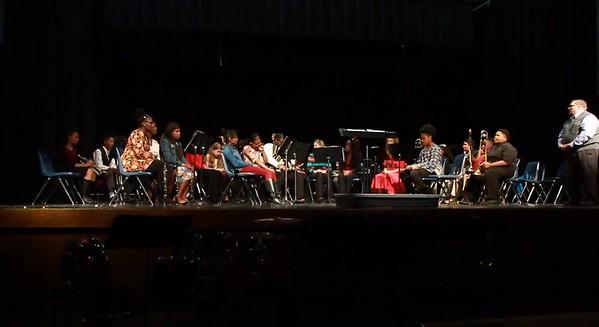 Watson Chapel High School Band Christmas 2017