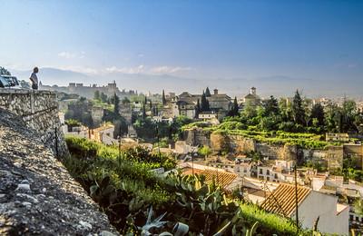 Alhambra vom Albaicín