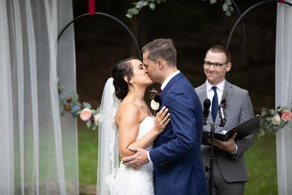 Lisa + Jonathan, Homestead Blessings Barn Wedding, Corning NY