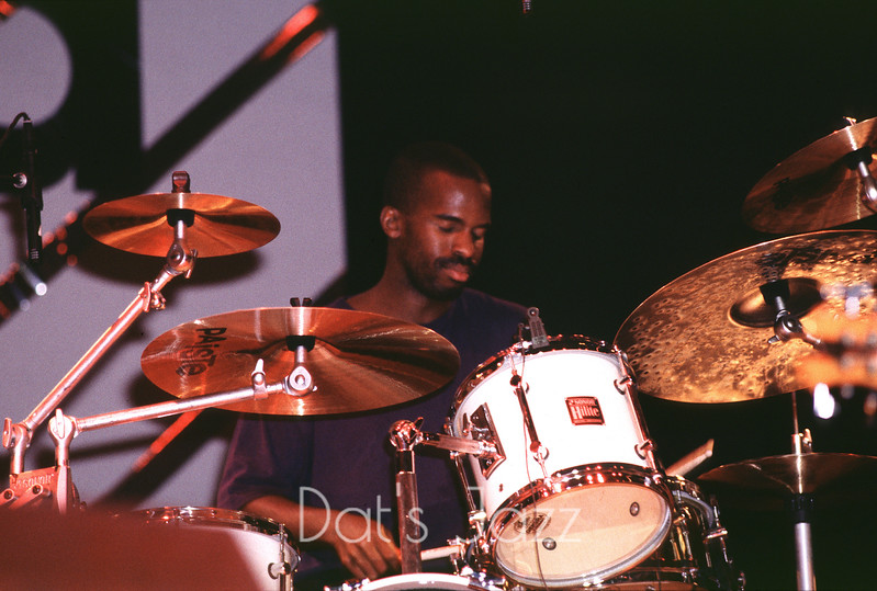 DJK 0312 WILL KENNEDY 10 July 1993 North sea Jazz Festival Den Haag, NL  ©Derick A. Thomas/Dat's jazz Picture Library