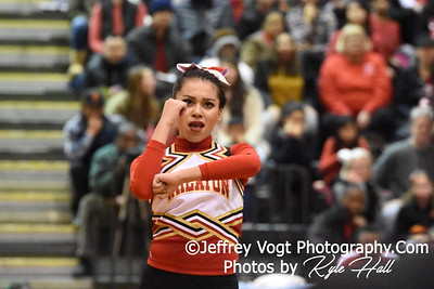 2-13-2016 Wheaton HS Varsity Poms at Blair HS MCPS Championship, Photos by Jeffrey Vogt Photography with Kyle Hall