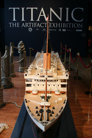 R.M.S. Titanic exhibit
