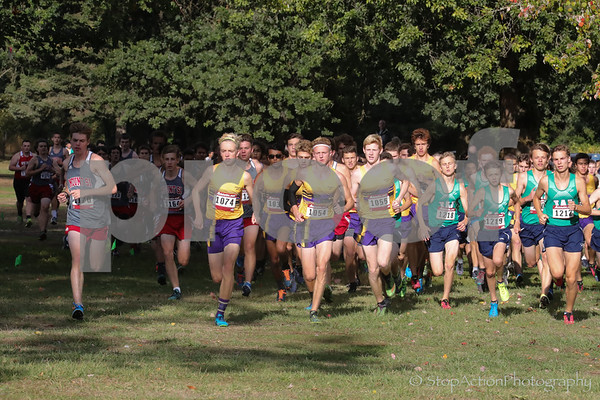 2017-09-20 Issaquah Boys Cross Country vs Woodinville vs Mount Si