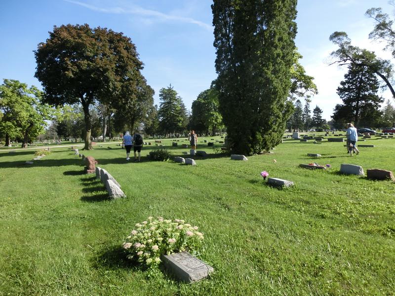 Sökkedja efter graven