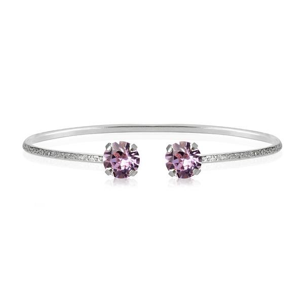 Petite Stud Bracelet _Violet-rhodium.jpg