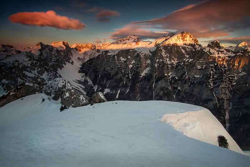 From Mt. Brda towards Triglav