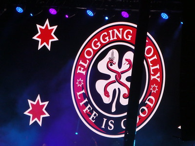 Flogging Molly-Dropkick Murphys-Jake Burns at Papa Murphy's Park