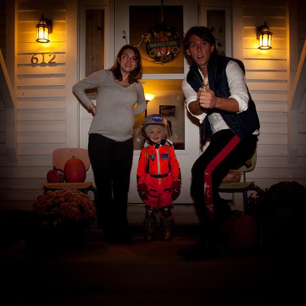 Halloween on October 31, 2011. (Jay Grabiec)