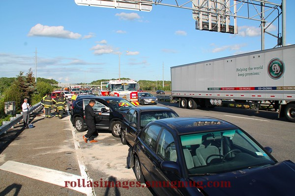 Commack FD Signal 23 N Service Road & Crooked Hill Road [05.27.17]
