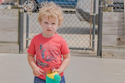 Harper, Quinn and Ellie at Pacific Beach 6-12-19
