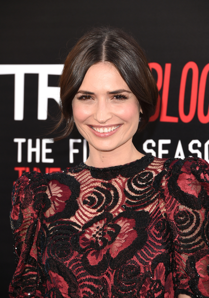 """. Actress Karolina Wydra attends the premiere of HBO\'s \""""True Blood\"""" season 7 and final season at TCL Chinese Theatre on June 17, 2014 in Hollywood, California.  (Photo by Jason Merritt/Getty Images)"""