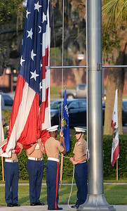 USMC -  Raising of The Colors - Parris Island, So. Carolina -9/22/17