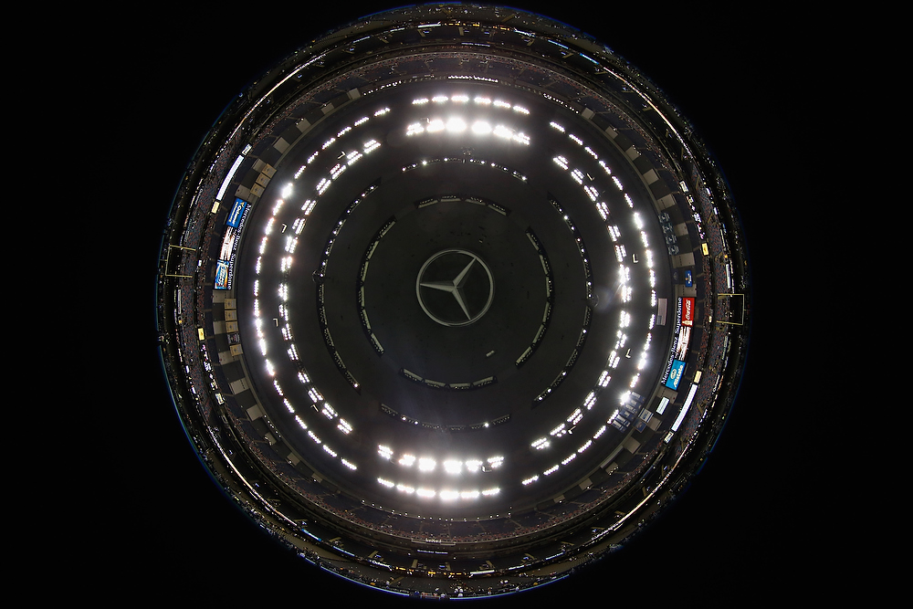 Description of . A general view of the Mercedes-Benz Superdome on December 16, 2012 in New Orleans, Louisiana.  (Photo by Chris Graythen/Getty Images)