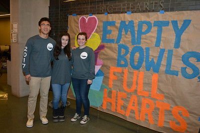 Empty Bowls Full Hearts 2017