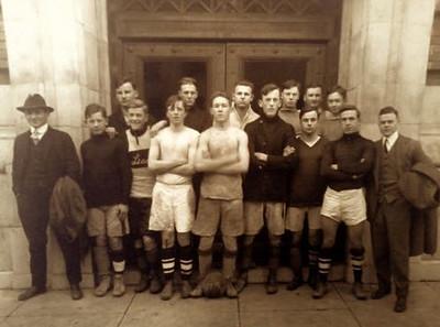 January, 20, 1914, Lincoln, High, School, Boys, Soccer, Team, Portland, Oregon
