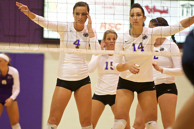 UNA Volleyball vs West Florida - Oct 2010