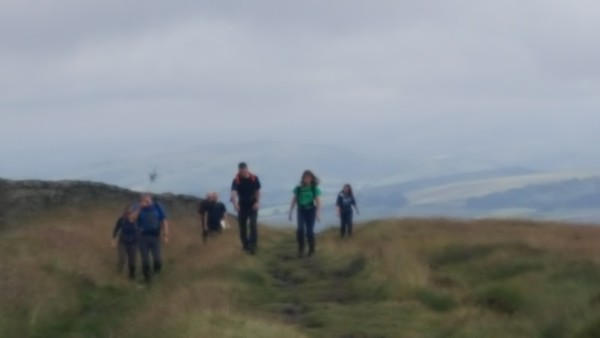2016-07-17 Scout Hike in the Goyt Valley