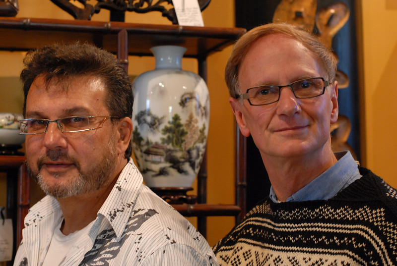 Peter and Robert of Moongate Oriental Antiques