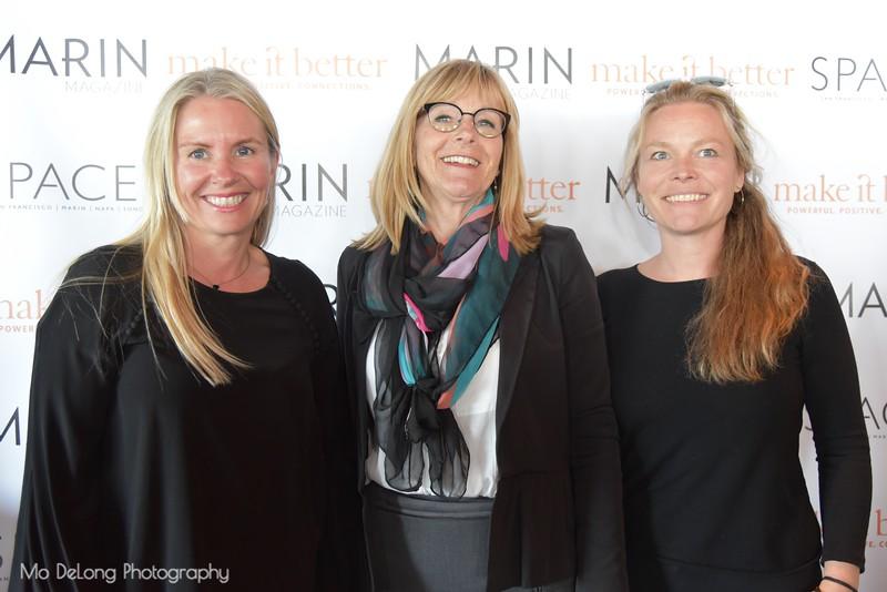 Ive Haugelan, Lisa Cohen and Mette Norgaard