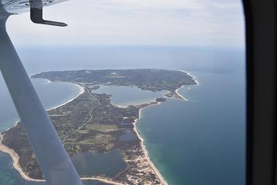 Flight to Block Island, RI